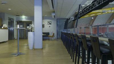 Mingel-/barlokal i anslutning till konferens- och grupprum