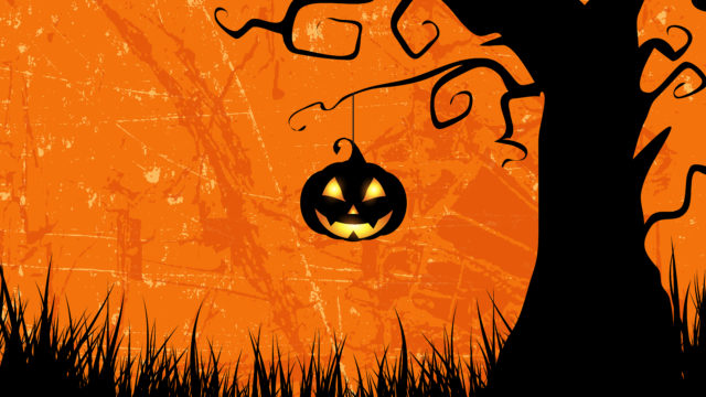 Skridskodisco med Halloween-tema